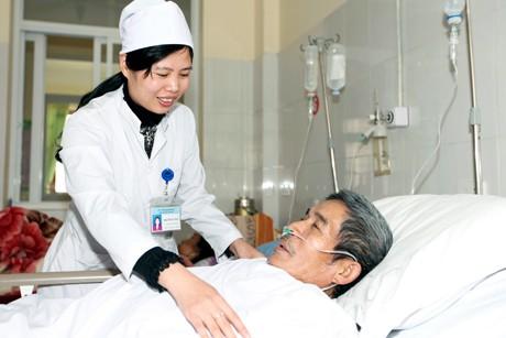 dịch vụ chăm sóc bệnh nhân tại bệnh viện