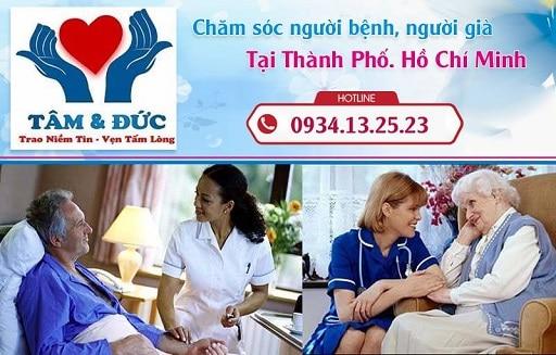 chăm sóc người bệnh ở 24 quận