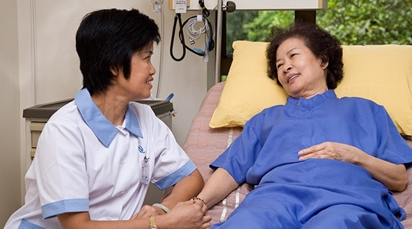 Chăm Sóc Người Già Tại Nhà & Bệnh Viện Ân Cần - Chu Đáo