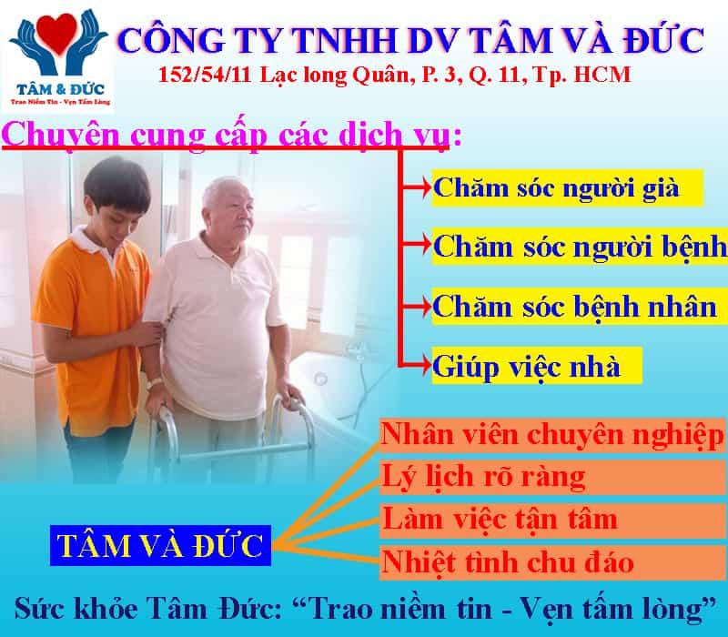 Dịch Vụ Chăm Sóc Người Bệnh Tại Bệnh Viện Tốt Nhất TP.HCM