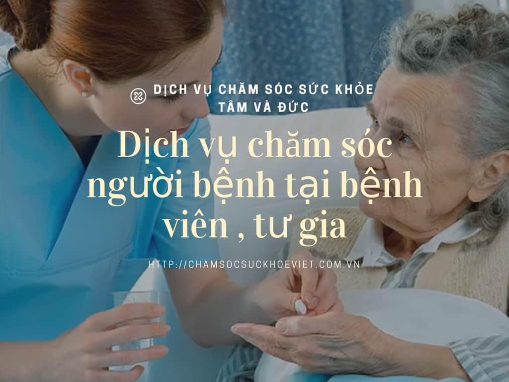 Dịch Vụ Chăm Sóc Người Bệnh Tại Bệnh Viện và Tư Gia ở TPHCM