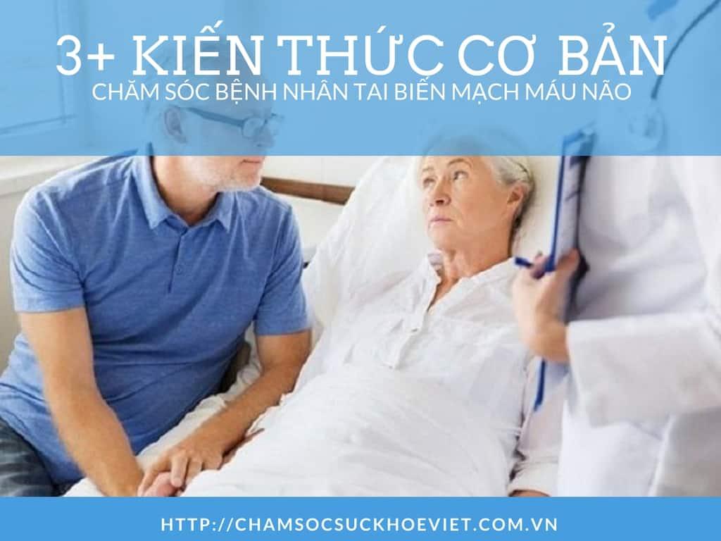 Tổng hợp kiến thức chăm sóc bệnh nhân tai biến mạch máu não