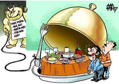 Chăm sóc bệnh nhân ngộ độc thức ăn