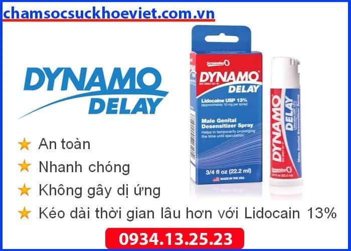 Dynamo Delay - Thuốc Chống Xuât Tinh Sớm Nhập Khẩu Chính Hãng Mỹ Sale OFF 10%