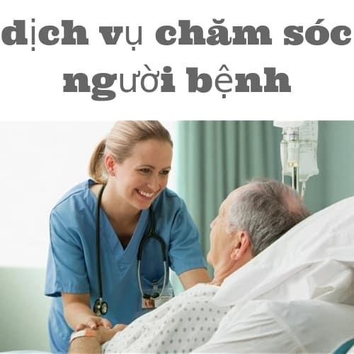 dịch vụ chăm sóc người bệnh