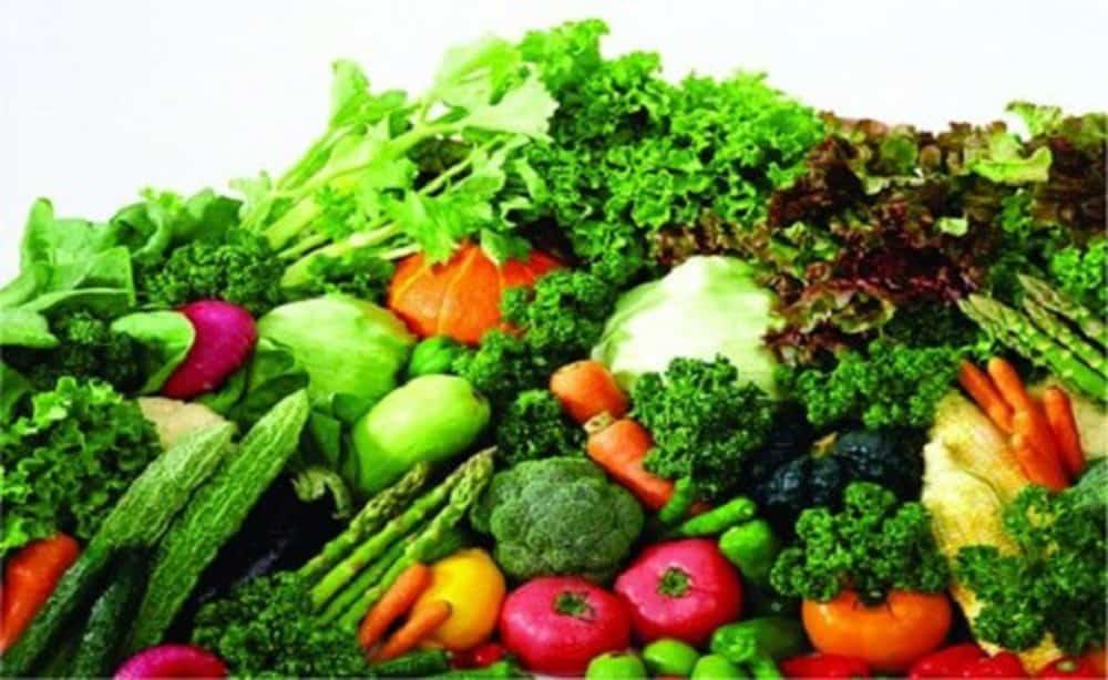 bổ sung thêm rau xanh