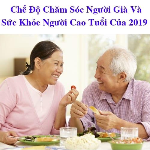 Chế Độ Chăm Sóc Người Già Và Sức Khỏe Người Cao Tuổi 2019