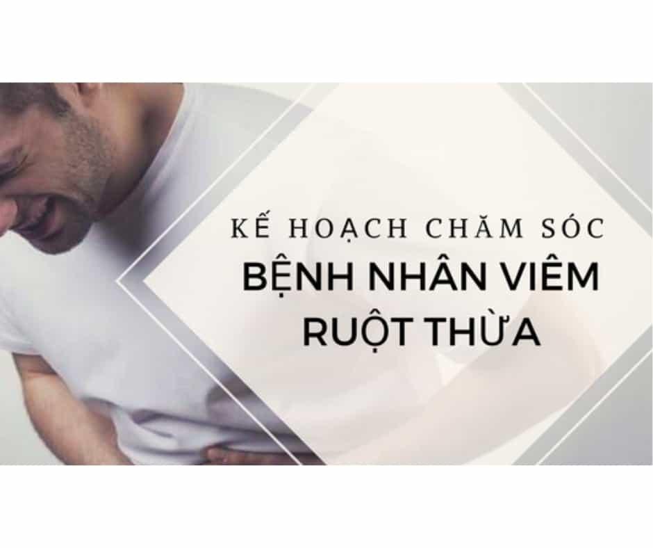 Kế Hoạch Chăm Sóc Bệnh Nhân Viêm Ruột Thừa