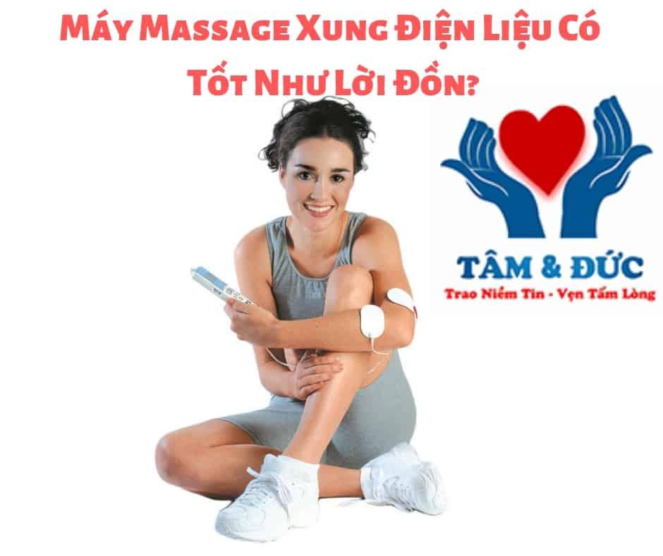 Máy Massage Xung Điện Liệu Có Tốt
