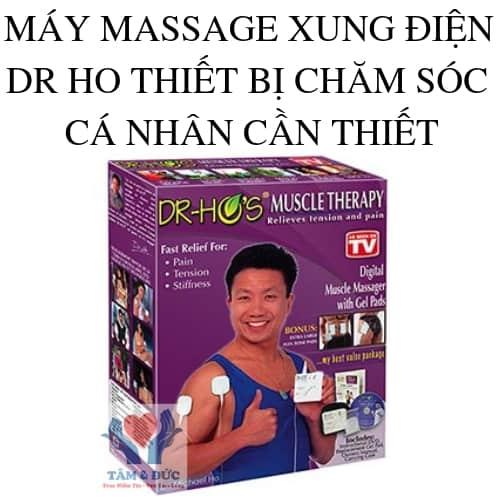 MÁY MASSAGE XUNG ĐIỆN DR HO