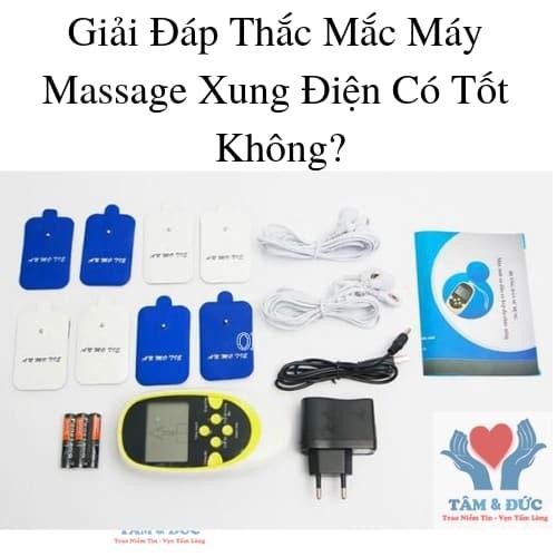 Giải Đáp Thắc Mắc Máy Massage Xung Điện