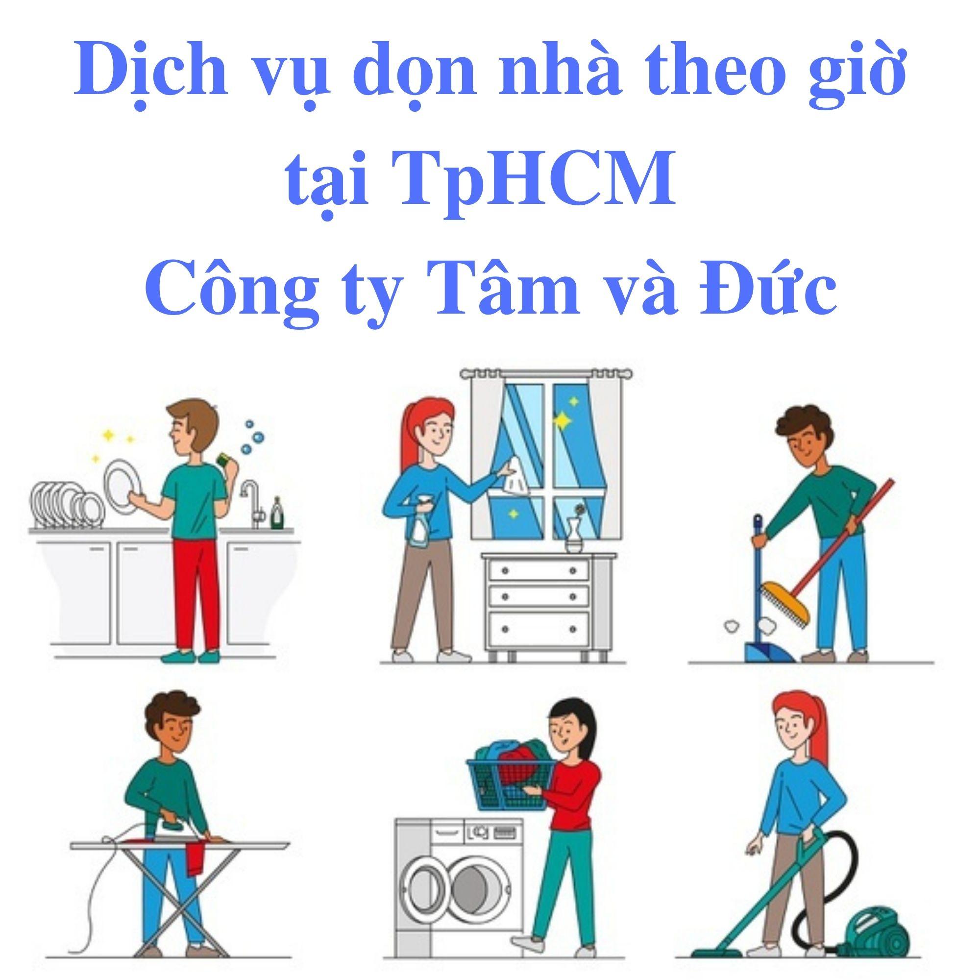 Dịch Vụ Dọn Nhà Theo Giờ TpHCM [Đặt Lịch Nhanh Chóng]