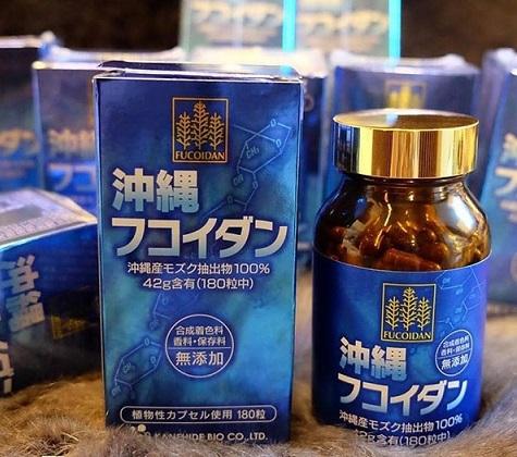 Thuốc Fucoidan Nhật Bản Hỗ Trợ Điều Trị Ung Thư Tốt Nhất Thế Giới